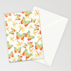 Butterflies and Dragonflies Stationery Cards