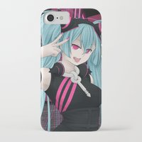 vocaloid iPhone & iPod Cases featuring Hatsune Miku - Party Junkie by Kunogi