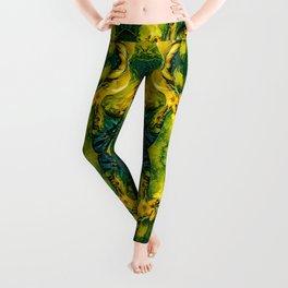 Nomi Malone Green Goddess Leggings