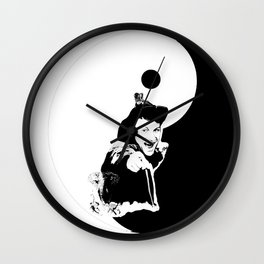 Dad..., you BAD ASS! ;) YINYANG version - LIFE CURRENT series... Wall Clock