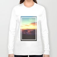 rogue Long Sleeve T-shirts featuring Planet Rogue by Daniel Montero