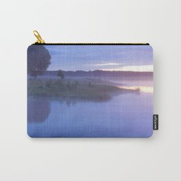 landscape of the lake at morning Carry-All Pouch