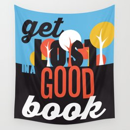 Get Lost - Just Read Wall Tapestry
