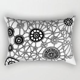 Gears n Wheels Rectangular Pillow