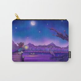 The Unexpected Visitor Carry-All Pouch