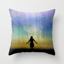 See Beyond Throw Pillow