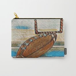 """ Football Bug "" Carry-All Pouch"
