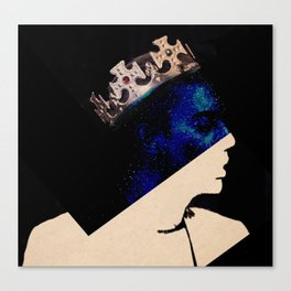 King portrait Canvas Print