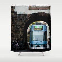 Streets os Freiburg Shower Curtain
