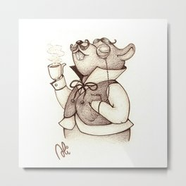 Tea time (no background) Metal Print