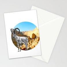 Nubian Ibex Stationery Cards