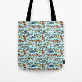Muscle Cars Tote Bag