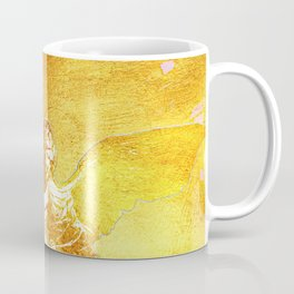 Archangel Michael in Gold Coffee Mug
