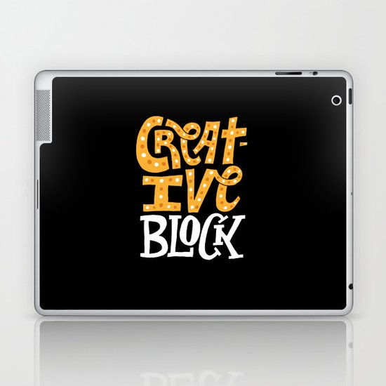 Creative Block Laptop & iPad Skin
