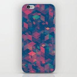 Isometric Grid No. 2 iPhone Skin