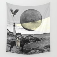 lighthouse Wall Tapestries featuring Lighthouse by •ntpl•
