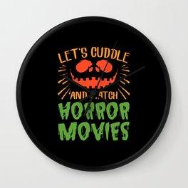 Horror Movies Wall Clock