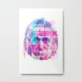 Artistic LXX - Albert Einstein Metal Print