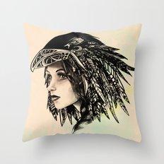 The Morrigan Throw Pillow