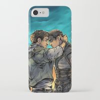 daunt iPhone & iPod Cases featuring Say Goodbye by Daunt