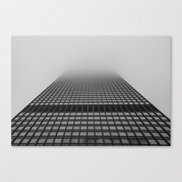 Foggy Chicago Morning 004 Canvas Print