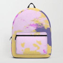 Bleida - Abstract Colorful Bohemian Batik Camouflage Tie Dye Style Art Backpack