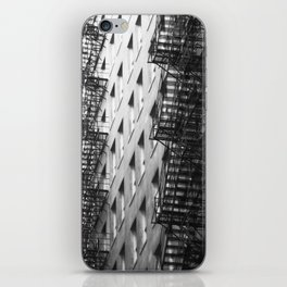 Chicago fire escapes iPhone Skin