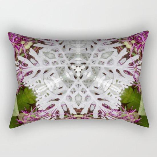 Snowflake Rectangular Pillow