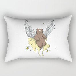 Bears and the Bees Rectangular Pillow