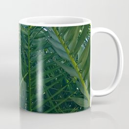 Luxurious Large Tangles Of Exotic Palm Leaves Coffee Mug