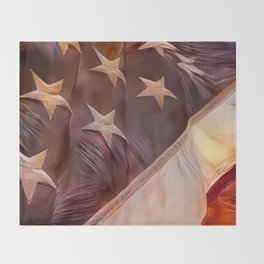 America II Throw Blanket