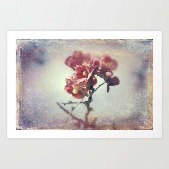 I dreamed a flower garden Art Print