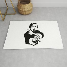 Chopin Fighter Rug