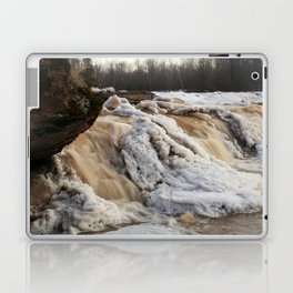 Wintry Bonanza Falls  Laptop & iPad Skin