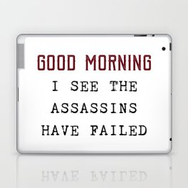 The Assassins Failed Laptop & iPad Skin