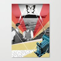science Canvas Prints featuring Science by Chris Newton