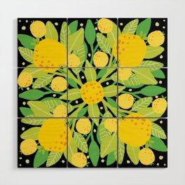 When life gives you lemons, make a lemon pattern Wood Wall Art