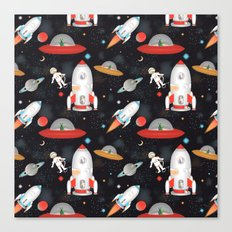 Spaceships Canvas Print