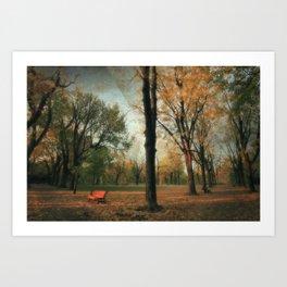 Fall's Crescendo Art Print