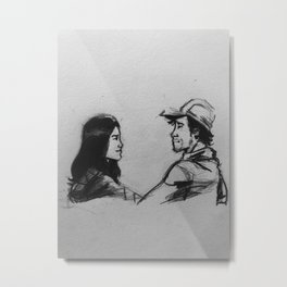 Glenn and Magge Metal Print