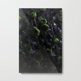 Chrysanthemums In The Twilight Metal Print