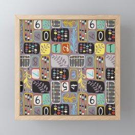 Abacus Framed Mini Art Print