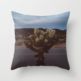 Cholla Cactus Garden XVI Throw Pillow