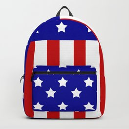Patriotic stars and stripes Backpack