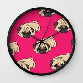 My Pug is a Loaf Wall Clock