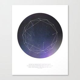 Light (Constellation) Canvas Print
