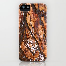 Hot spring formation - over saturated iPhone Case