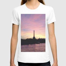 Paris Sky at Dusk T-shirt