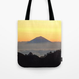 Island in the clouds 2 Tote Bag