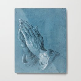 Praying Hands by Albrecht Dürer Metal Print